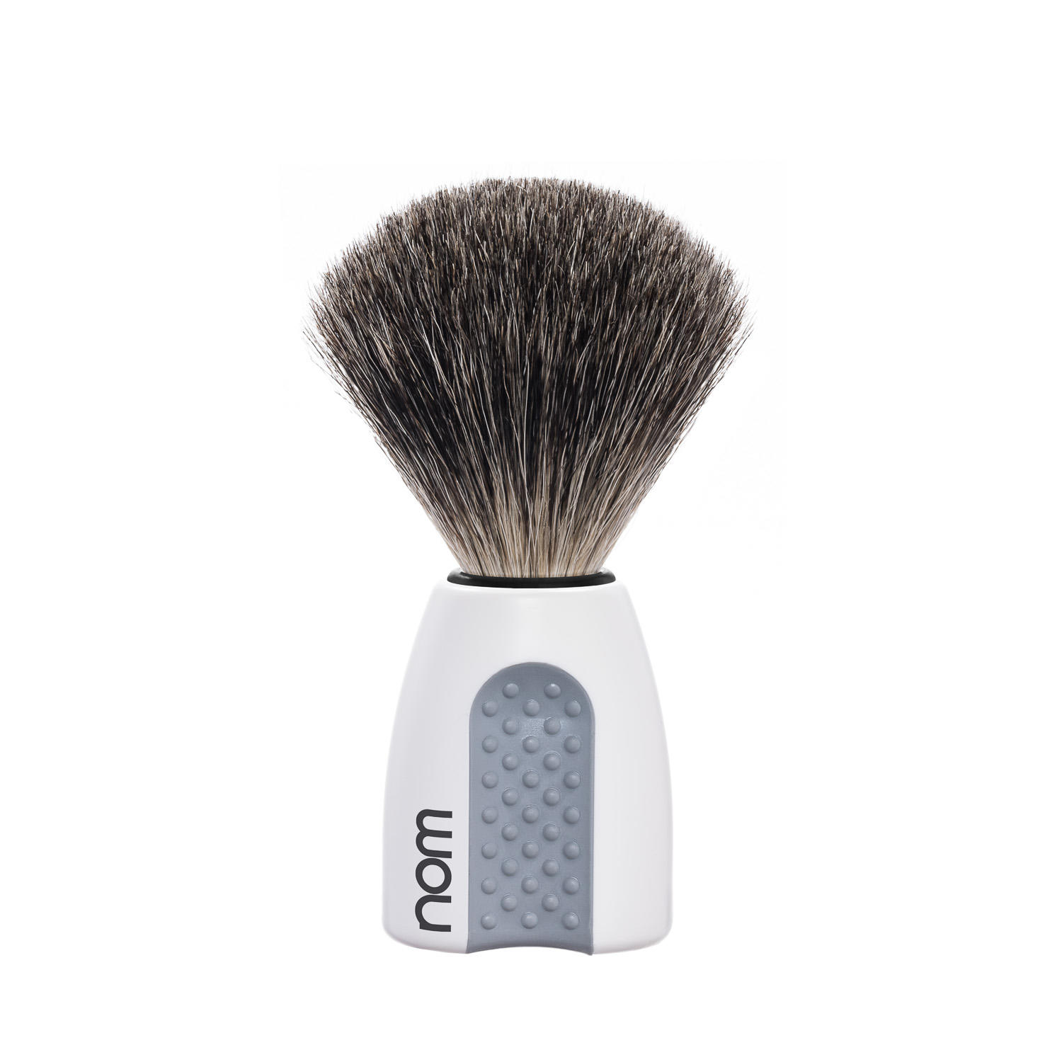 ERIK81WH NOM, ERIK white, pure badger shaving brush