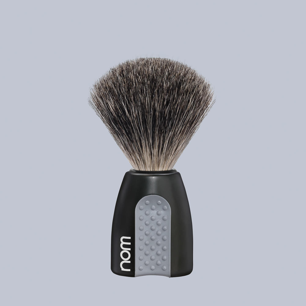 ERIK81BL NOM, ERIK black, pure badger shaving brush
