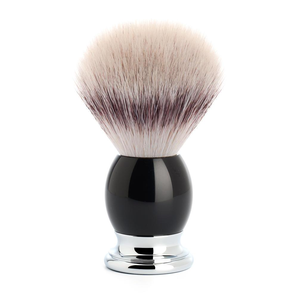 MUHLE SOPHIST Silvertip Fibre Shaving Brush in Black Resin