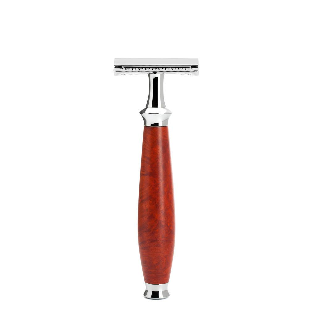 MUHLE PURIST Safety Razor in Briar Wood