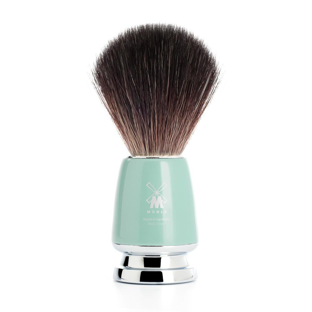 MUHLE RYTMO Mint Handle Black Fibre Shaving Brush