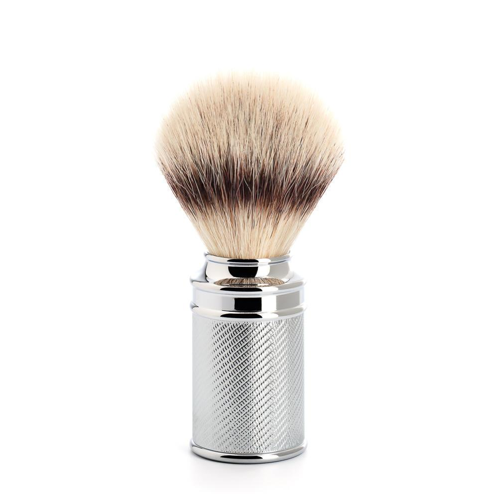 MUHLE TRADITIONAL Chrome Silvertip Fibre Brush