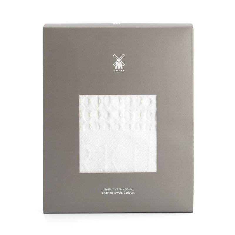 Waffle Pique Shaving Towel Set by MÜHLE (T1)