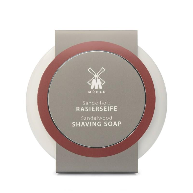 The Sandalwood Shaving Soap presented in Porcelain Dish by MÜHLE (RN2SH)