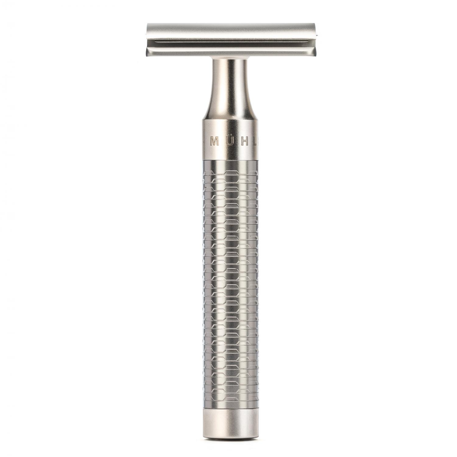 ROCCA Pure Matt Stainless Steel Safety Razor