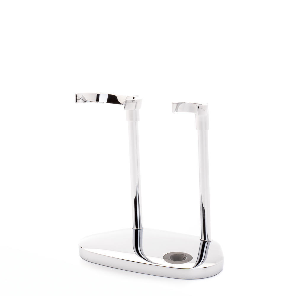 MUHLE Chrome stand for KOSMO shaving Brush & Razor - RHM87