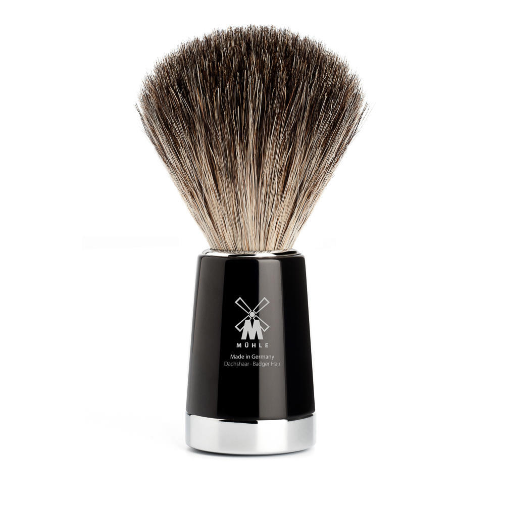 MUHLE LISCIO Black Pure Badger Shaving Brush - 81M146