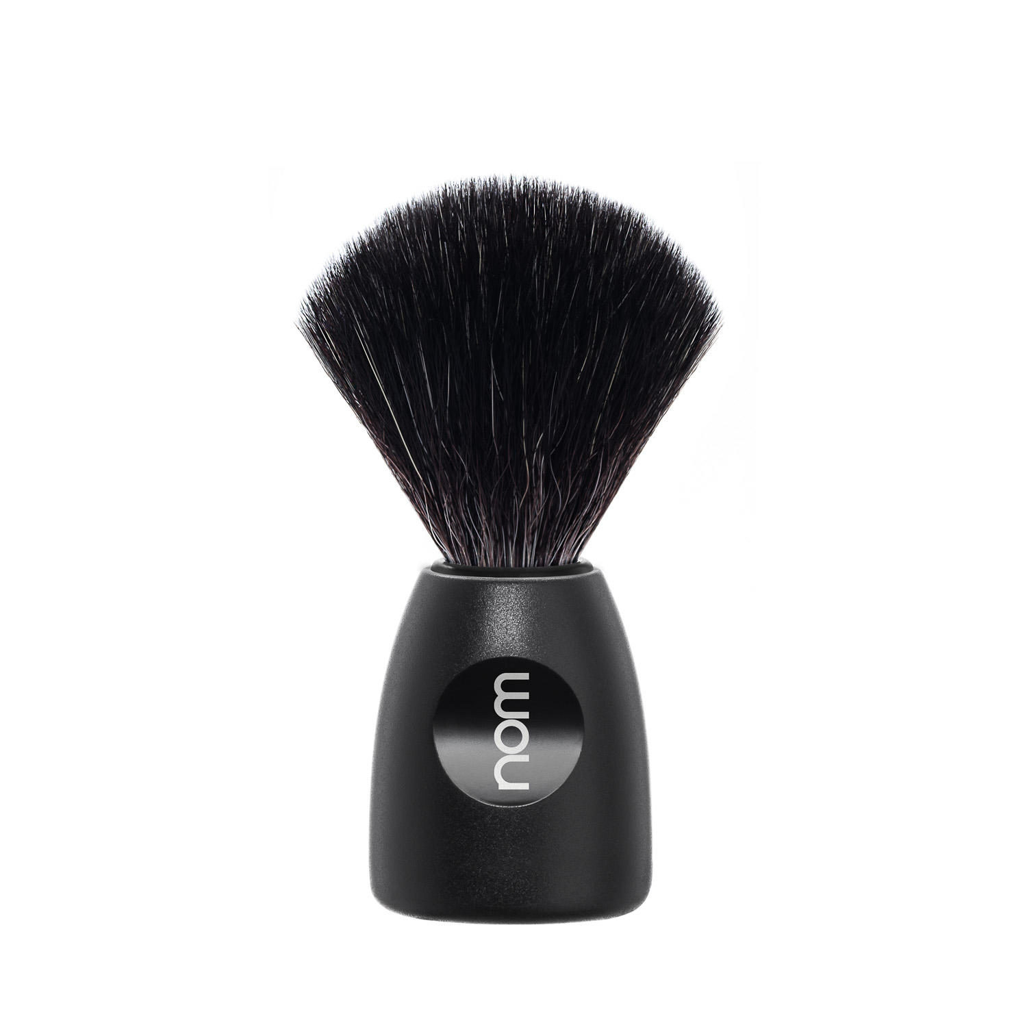 LASSE21BL NOM, LASSE, Black with Black Fibre Shaving Brush