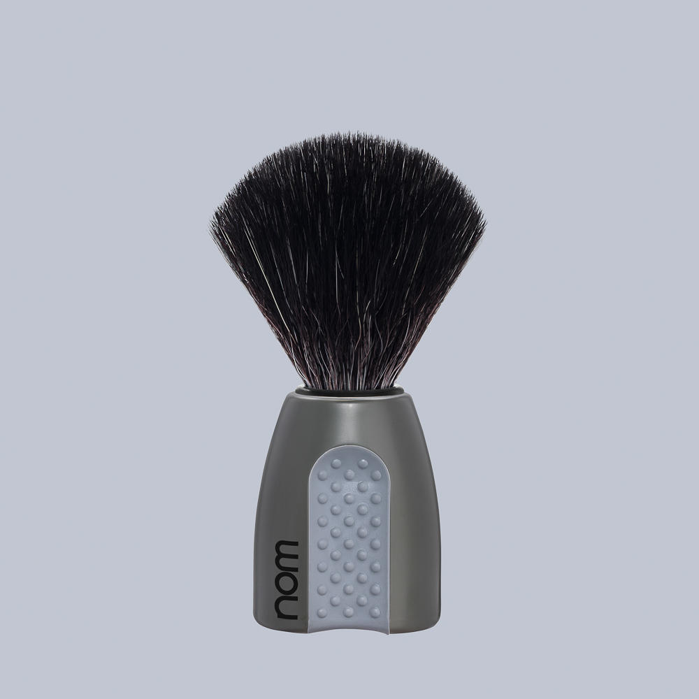 ERIK21GR NOM, ERIK grey, Black Fibre Shaving Brush