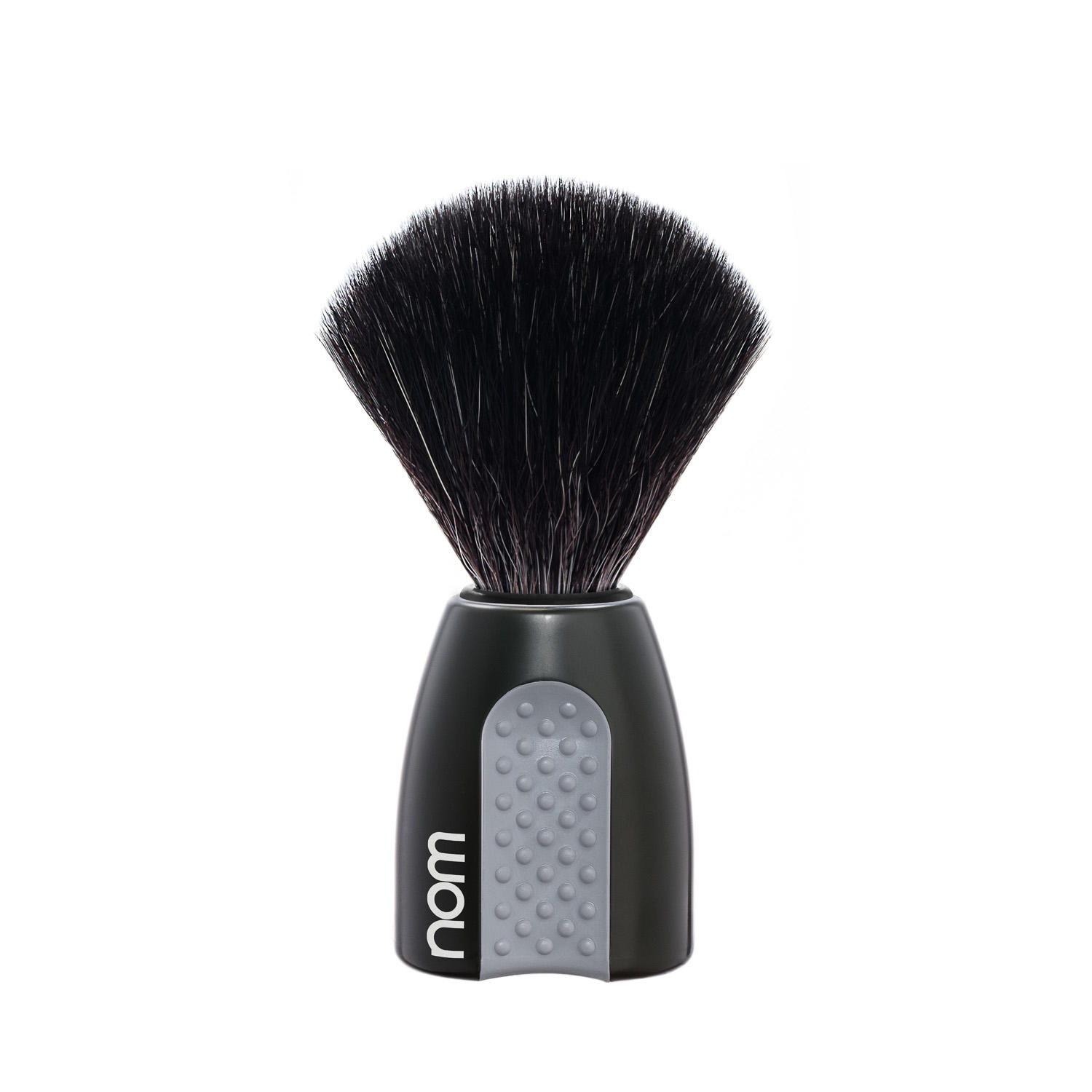 ERIK21BL NOM, ERIK, Black Handle, Black Fibre, Shaving Brush