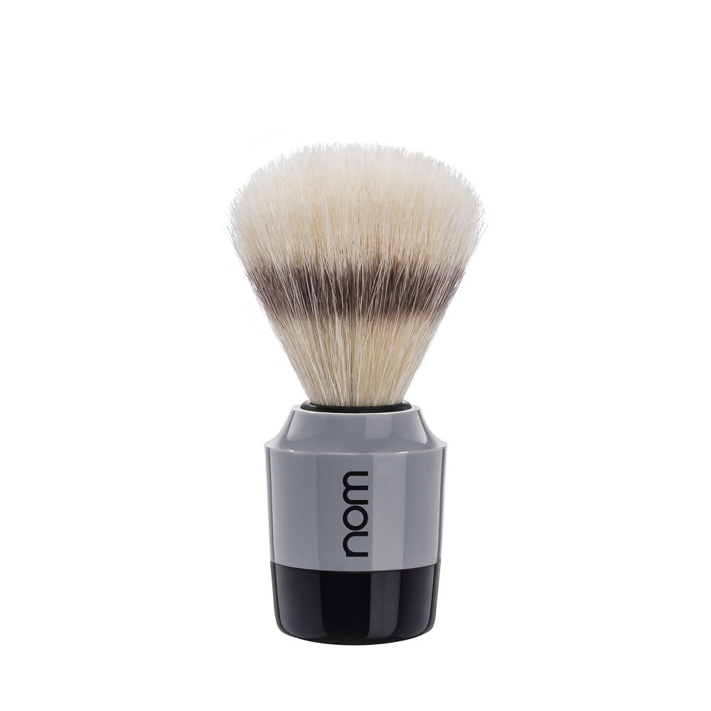 MARTEN41GR NOM, MARTEN in grey, pure bristle shaving brush