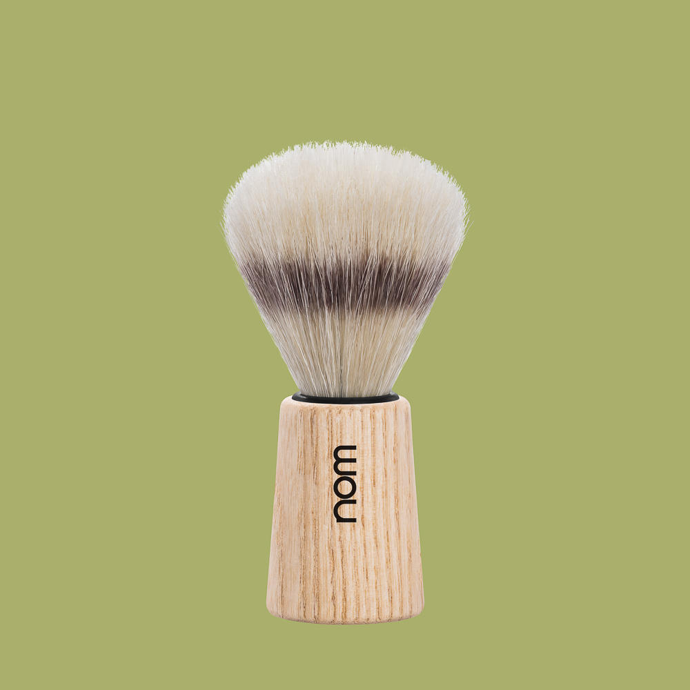 THEO41PA nom OLE, pure ash, pure bristle shaving brush
