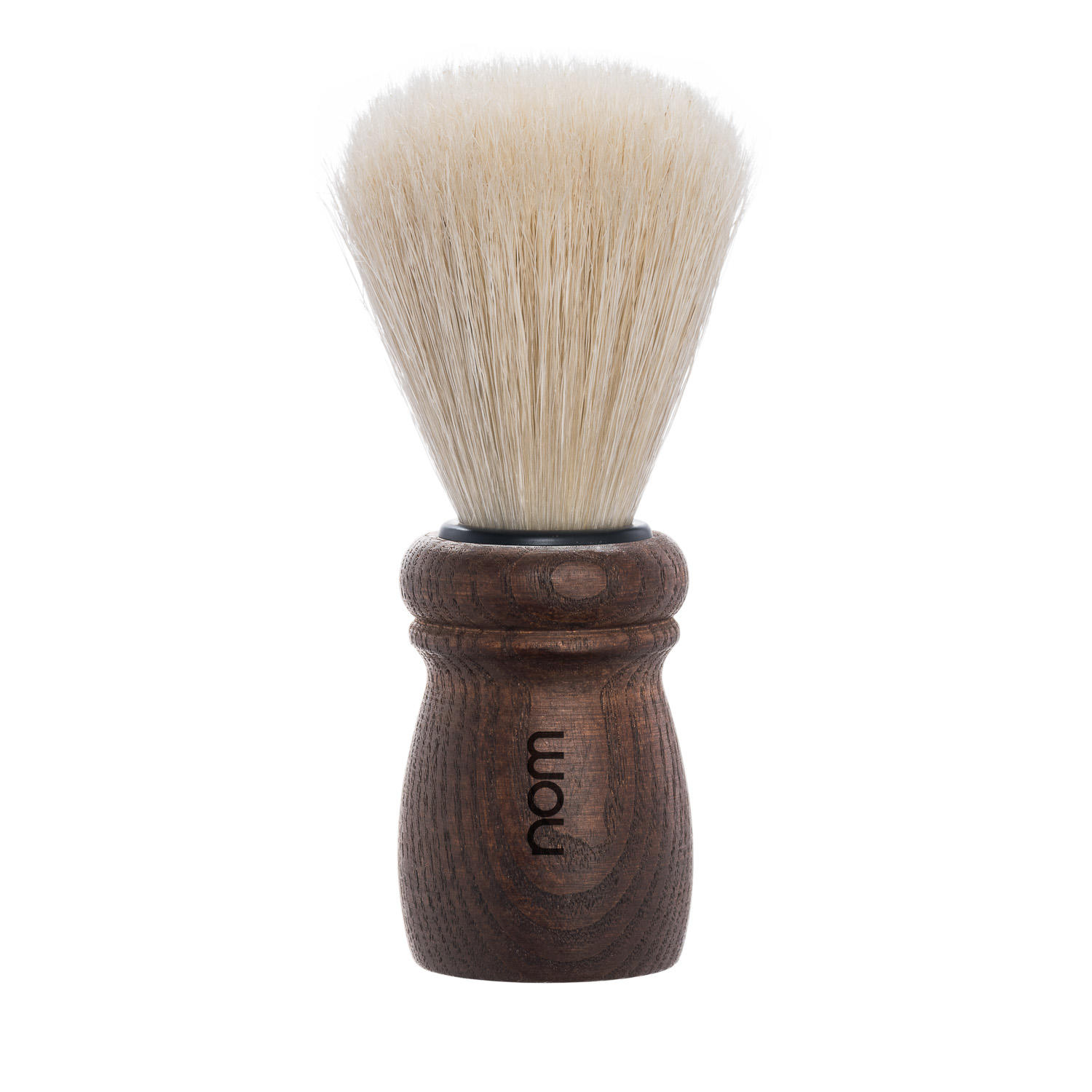 ALFRED15DA nom ALFRED, Dark Ash, Natural Bristle Shaving Brush