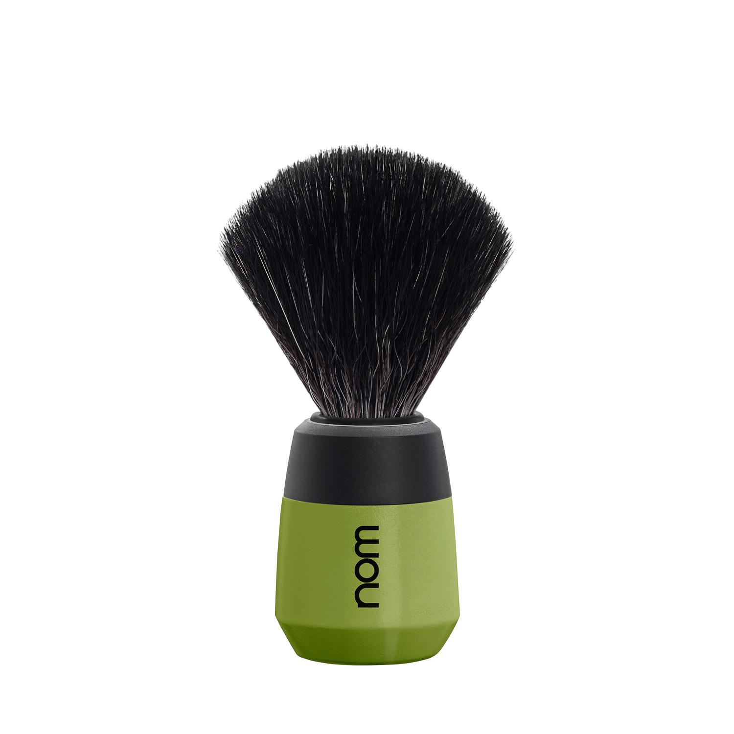 nom MAX, Olive, Black Fibre Shaving Brush