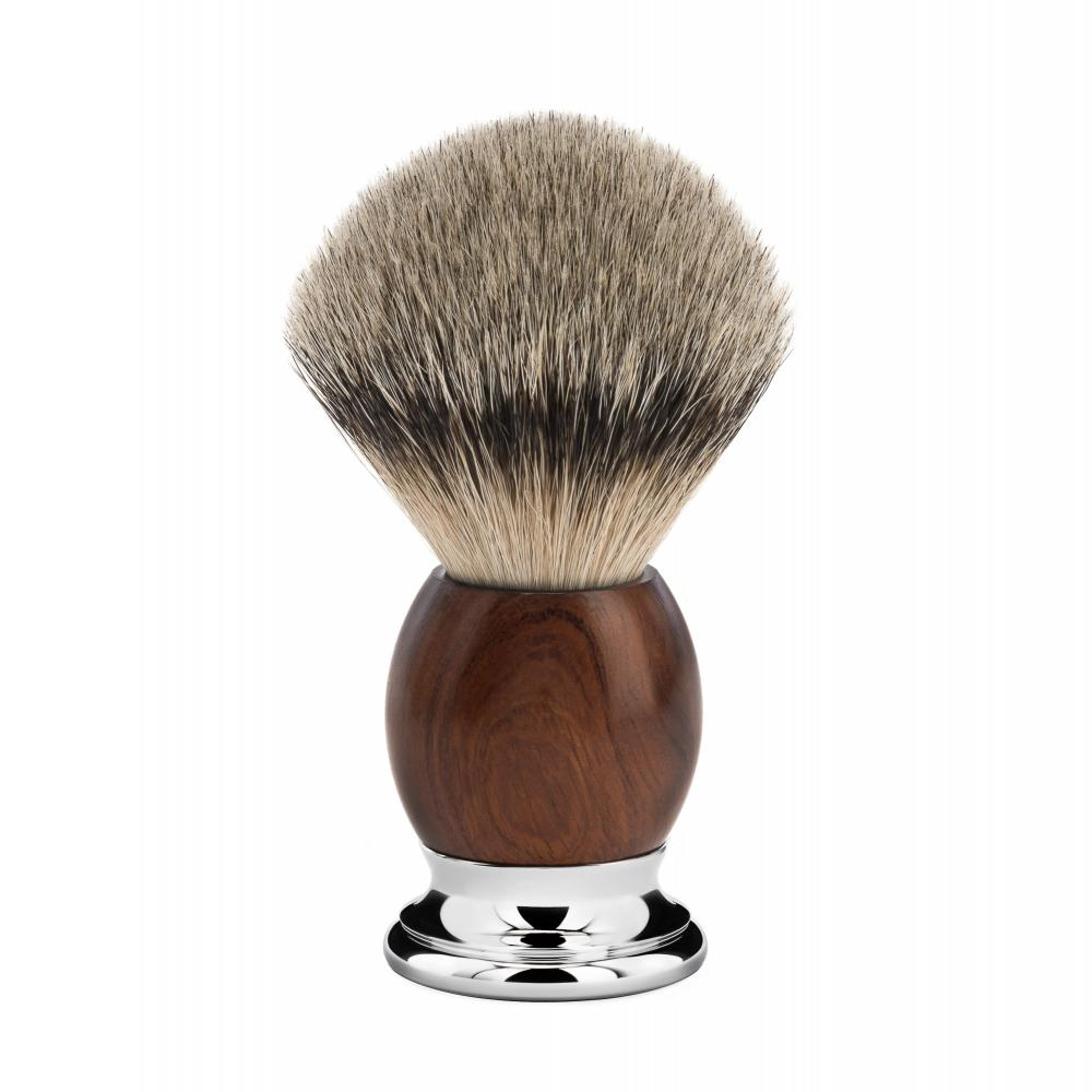 MÜHLE SOPHIST Ironwood/Chrome Silvertip Badger Shaving Brush