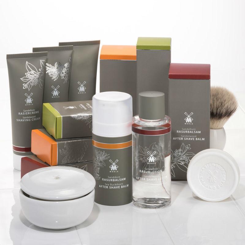 The MÜHLE Skincare Range