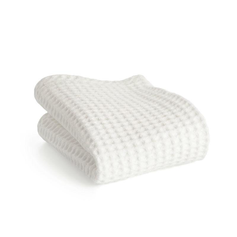 The MÜHLE Waffle Pique Towels.