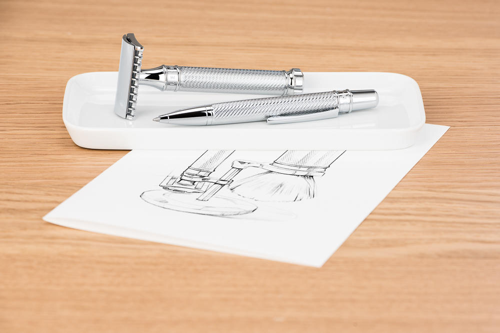 MUHLE Chrome Plated Ball Point Pen