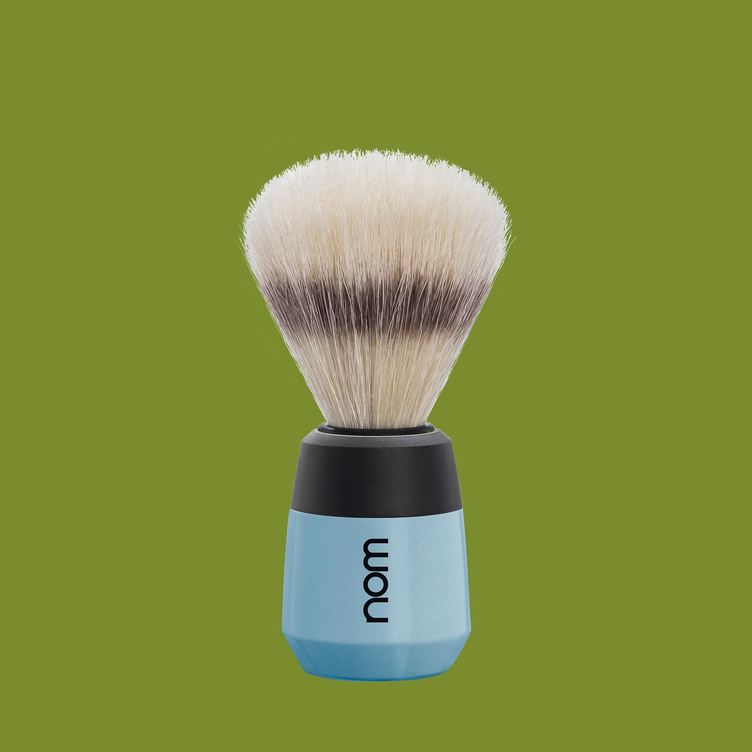 nom MAX, Fjord, Natural Bristle Shaving Brush