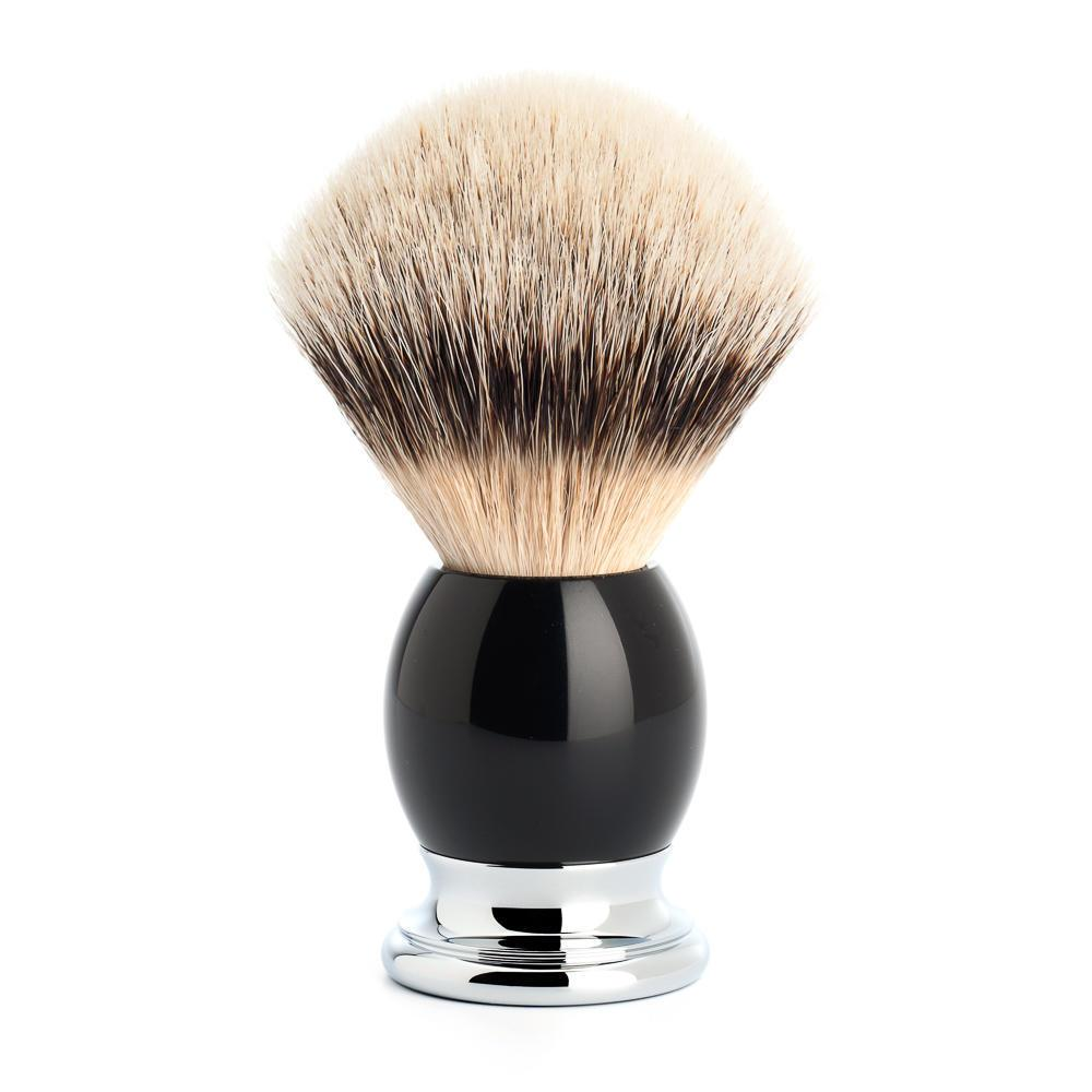 MUHLE SOPHIST Silvertip Shaving Brush in Black
