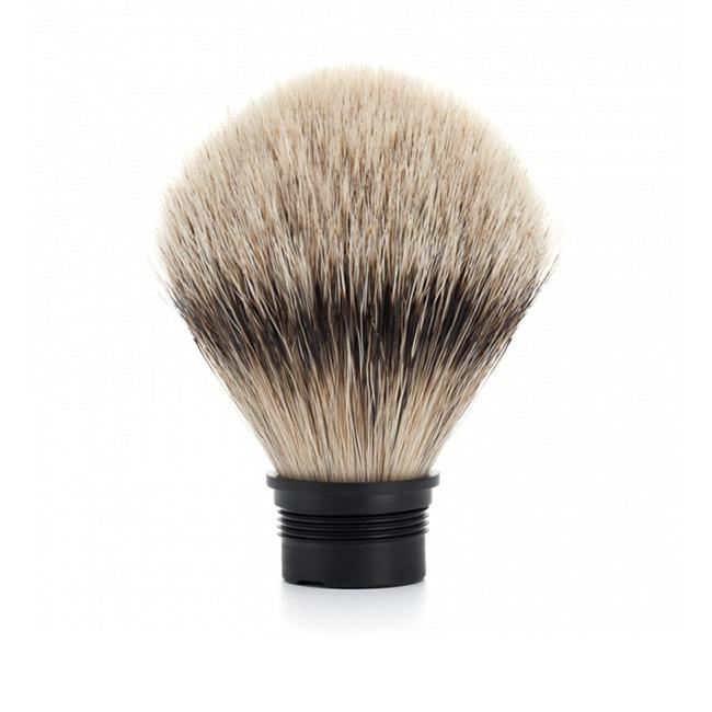 MUHLE Replacement Silvertip Badger Brush Head for TRADITIONAL, ROCCA and HEXAGON Series Shaving Brushes - 091M49