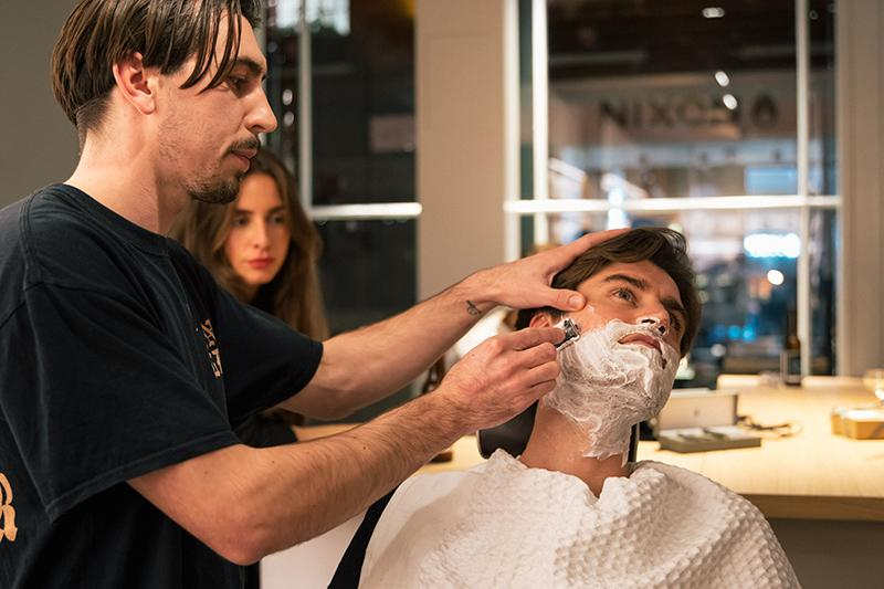 MÜHLE London Launch; Safety Razor Shave Demo