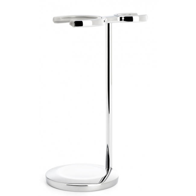 MUHLE Chrome Shaving Set Stand for the VIVO Series Shaving Brush and Razor - RHM33