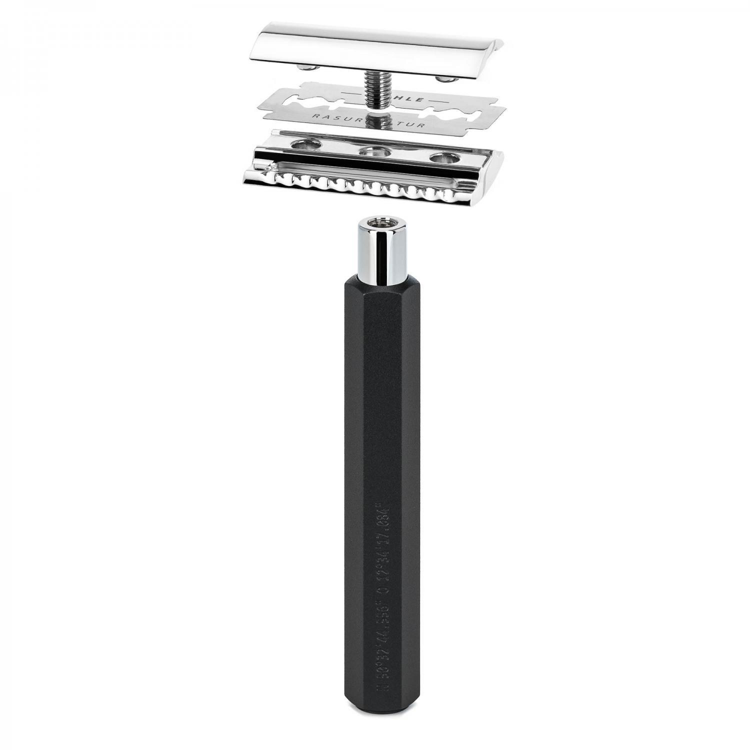 MUHLE HEXAGON Graphite Safety Razor