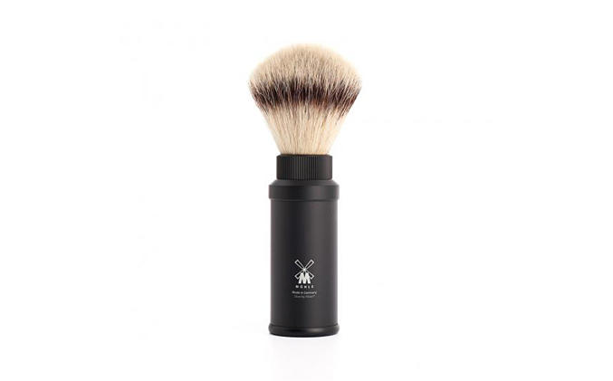 TRAVEL SHAVING BRUSHES