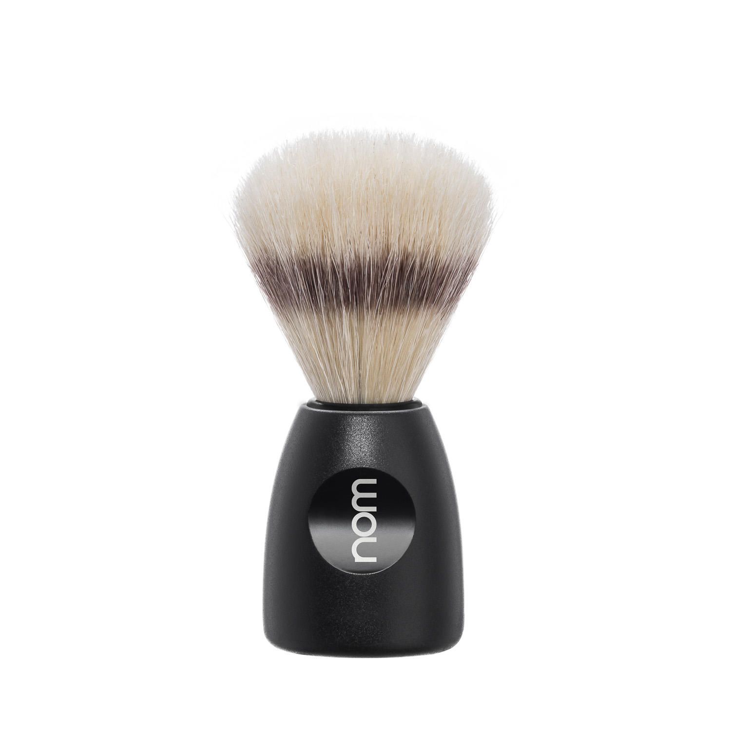 LASSE41BL NOM, LASSE in Black, Natural Bristle Shaving Brush