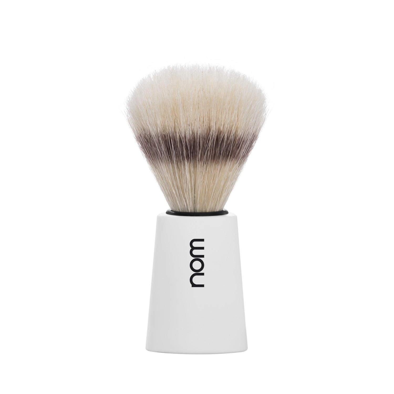 CARL41WH NOM, CARL white, pure bristle shaving brush