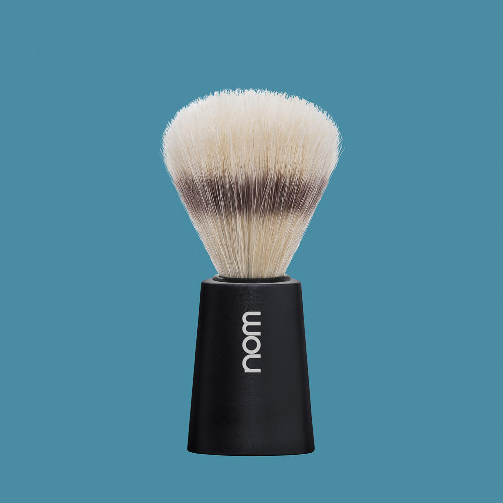 CARL41BL NOM, CARL Black, Pure Bristle Shaving Brush