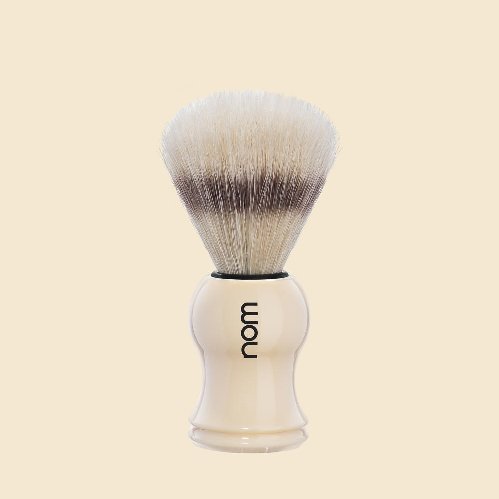 GUSTAV41CR NOM, GUSTAV cream, pure bristle shaving brush