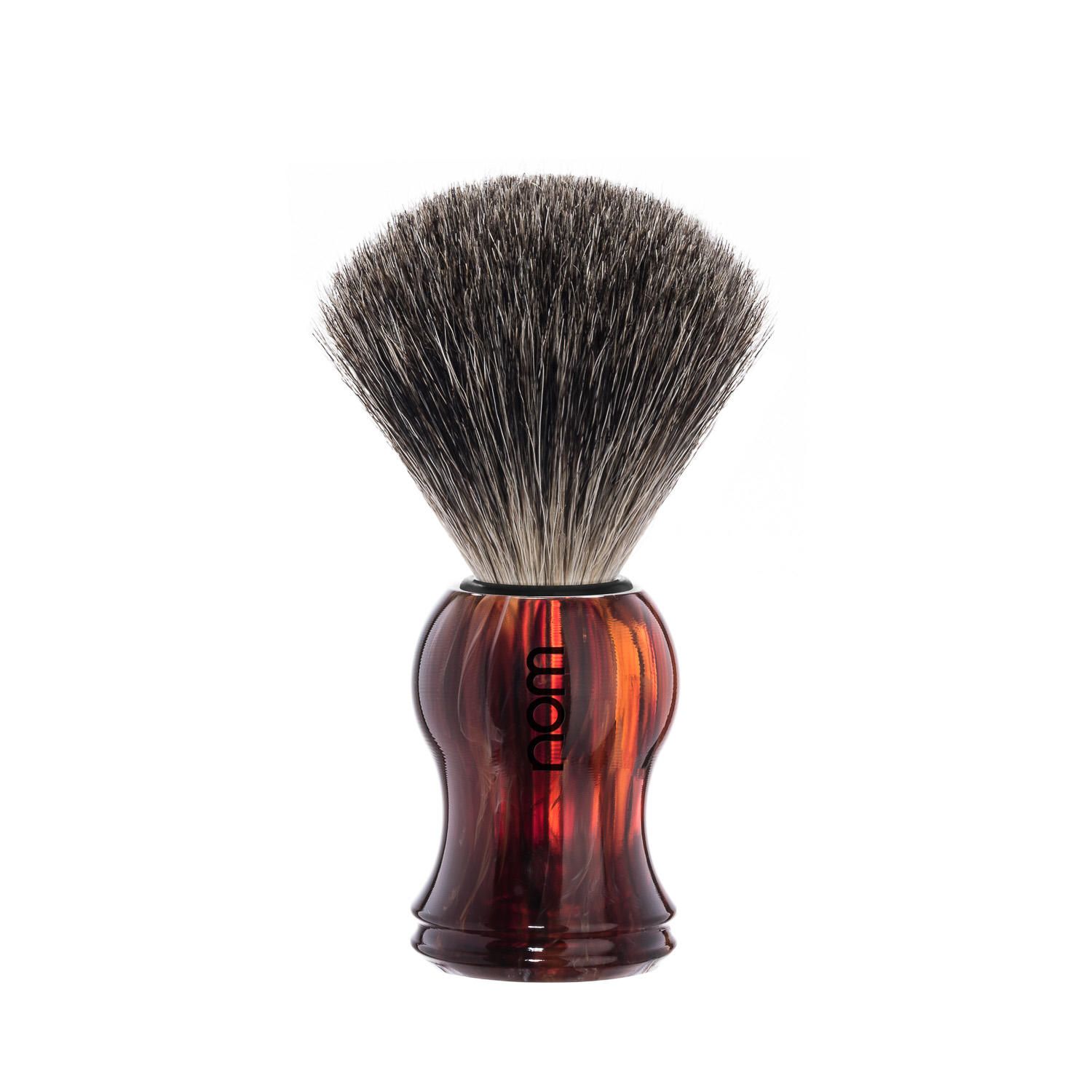 GUSTAV81HA nom, GUSTAV havanna, pure badger shaving brush