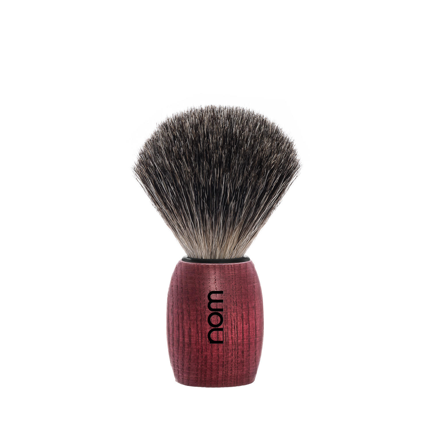 OLE81BA nom OLE, Blushed Ash, Pure Badger Shaving Brush
