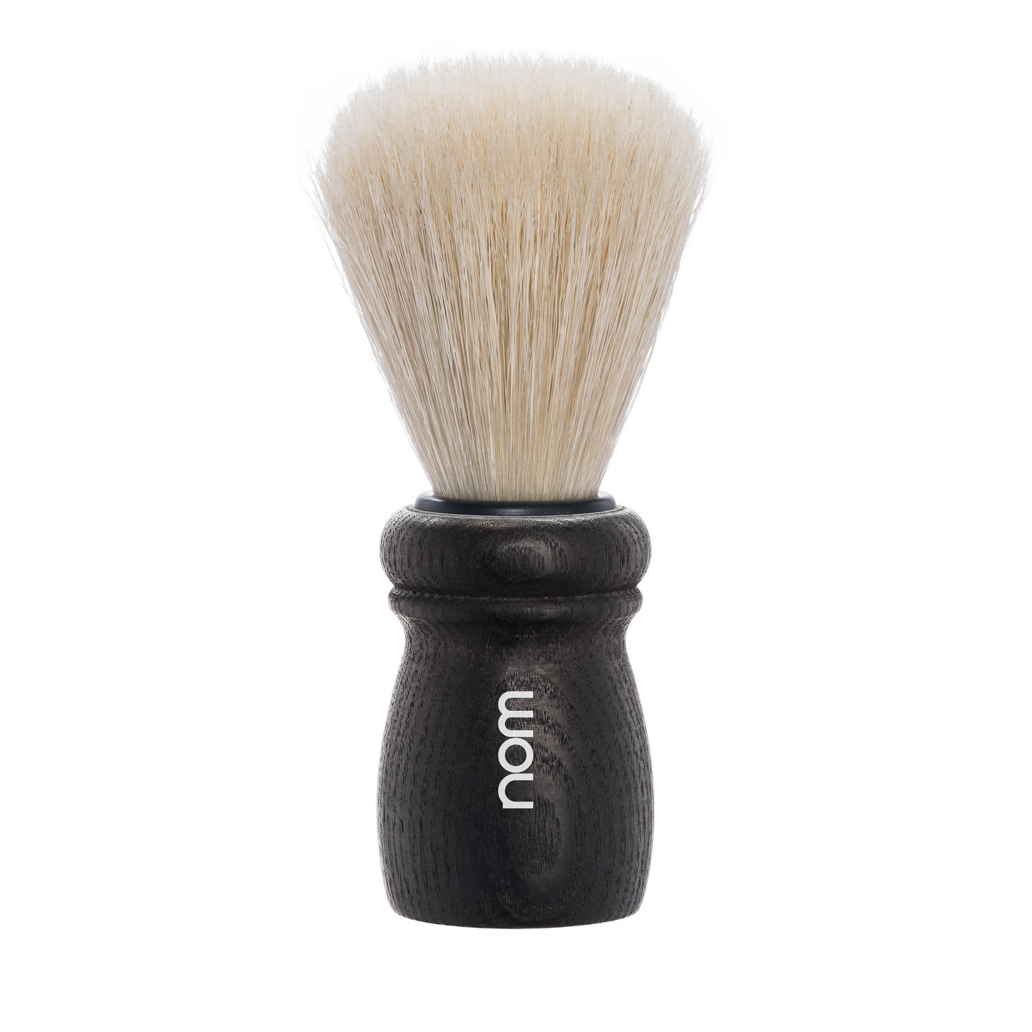 ALFRED15BA nom ALFRED, Black Ash, Long Natural Bristle Shaving Brush