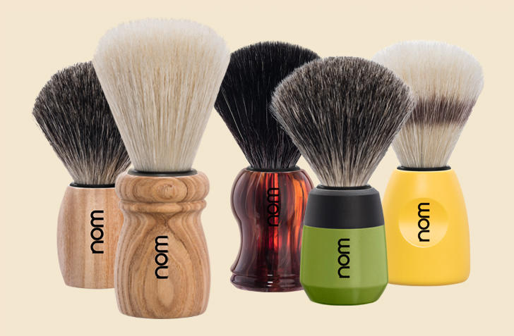 nom Shaving Brushes
