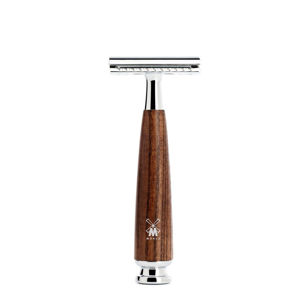 MUHLE RYTMO Steamed Ash  Safety Razor