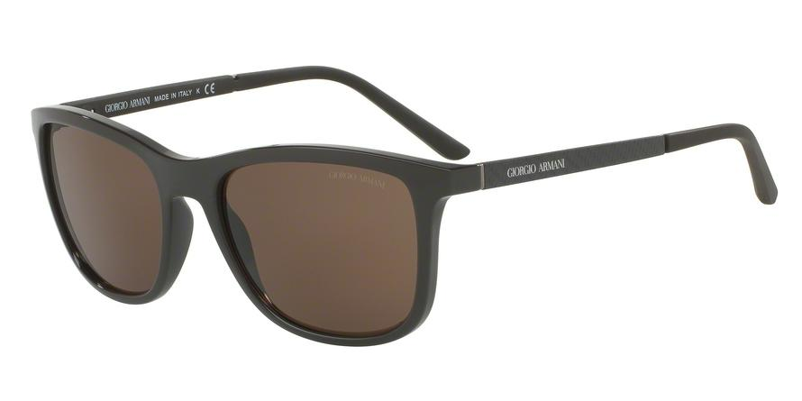 Giorgio Armani  AR8087 558173 Brown Square Sunglasses picture 1