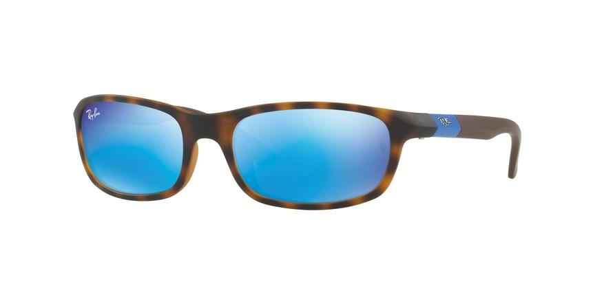 Ray-Ban Junior N/A RJ9056S 702555 Havana Rectangle Sunglasses picture 1