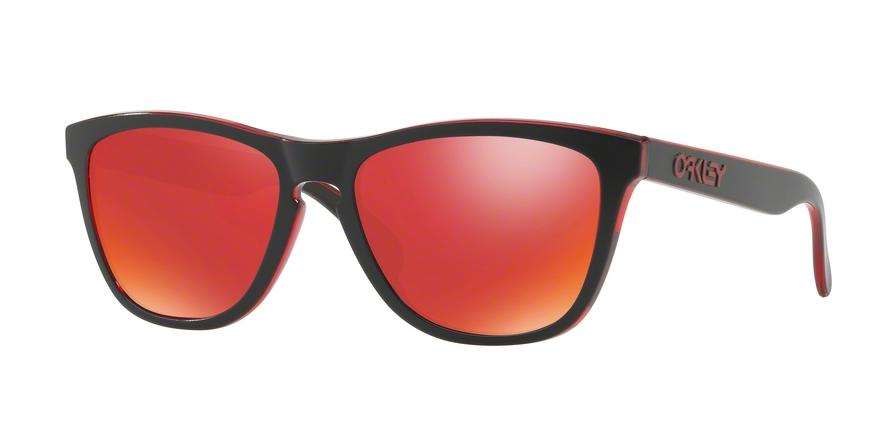 Oakley FROGSKINS OO9013 9013A7 Red Square Sunglasses picture 1