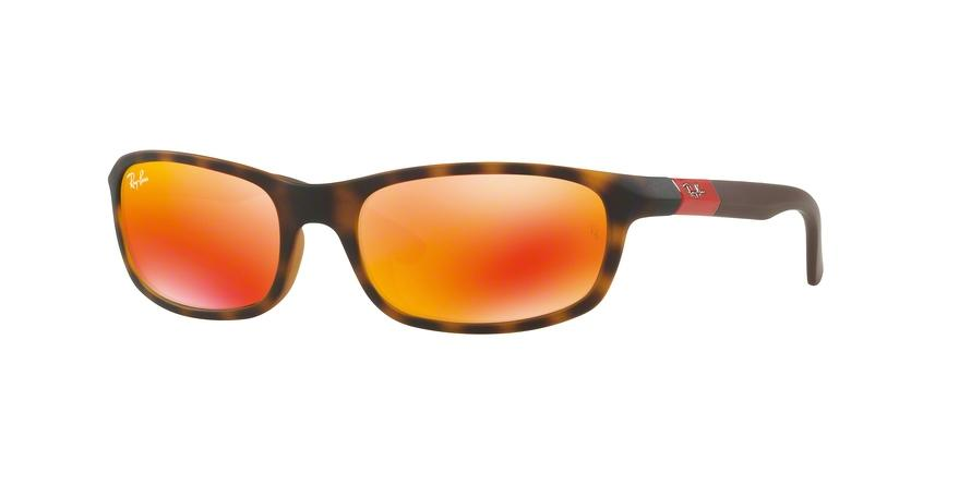 Ray-Ban Junior N/A RJ9056S 70266Q Havana Rectangle Sunglasses picture 1