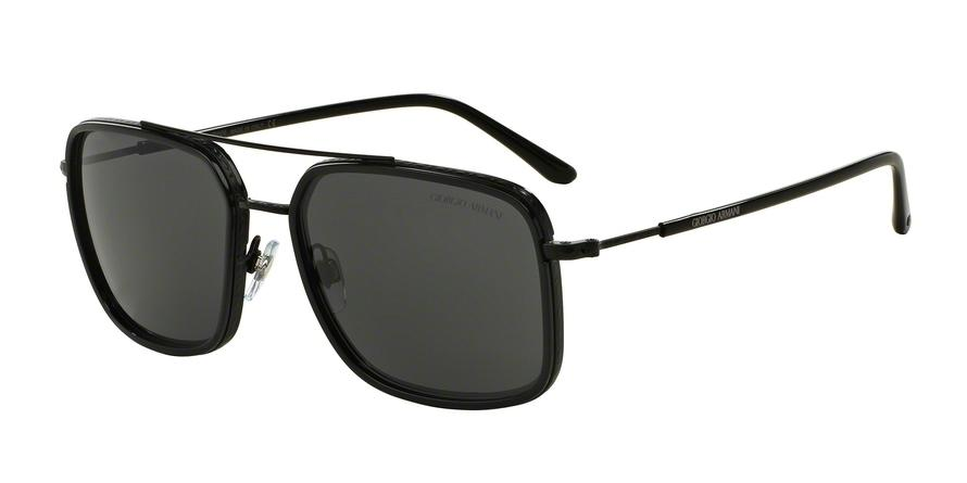 Giorgio Armani  AR6031 300187 Black Square Sunglasses picture 1