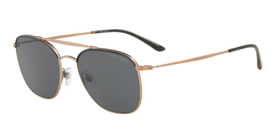 Giorgio Armani  AR6058J 300481 Bronze/copper Square Sunglasses picture 1