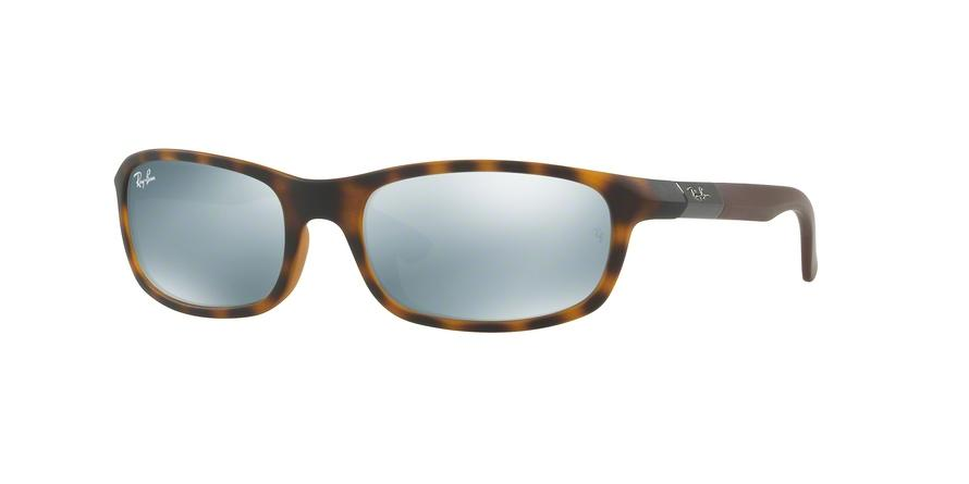Ray-Ban Junior N/A RJ9056S 702730 Havana Rectangle Sunglasses picture 1