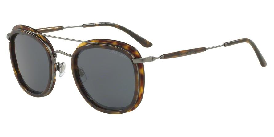Giorgio Armani  AR6054 300387 Havana Pillow Sunglasses picture 1