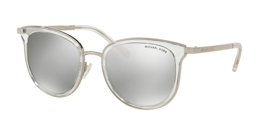 Michael Kors ADRIANNA I MK1010 11026G Clear Square Sunglasses picture 1