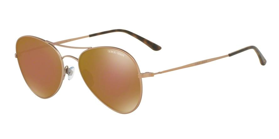 Giorgio Armani  AR6035 30046H Bronze/copper Pilot Sunglasses picture 1