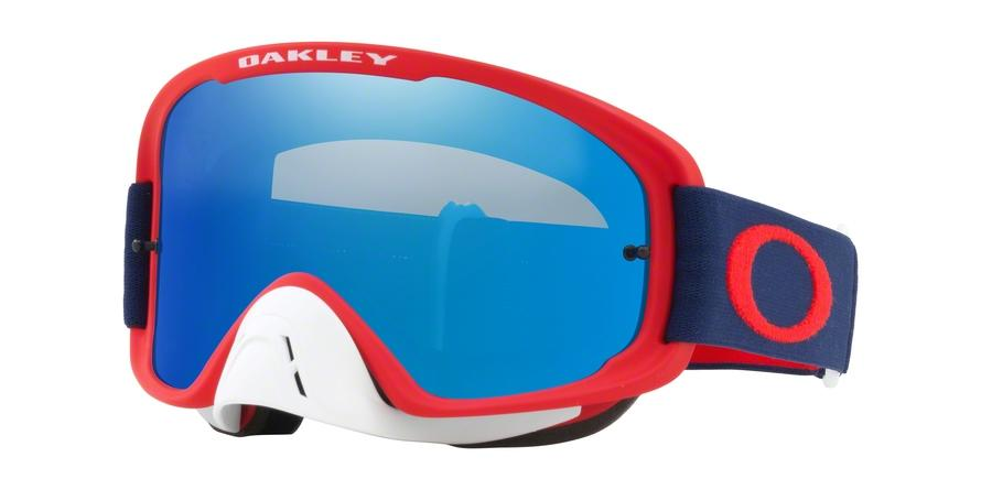Oakley O FRAME 2.0 MX OO7068 706826 Red Irregular Goggles picture 1