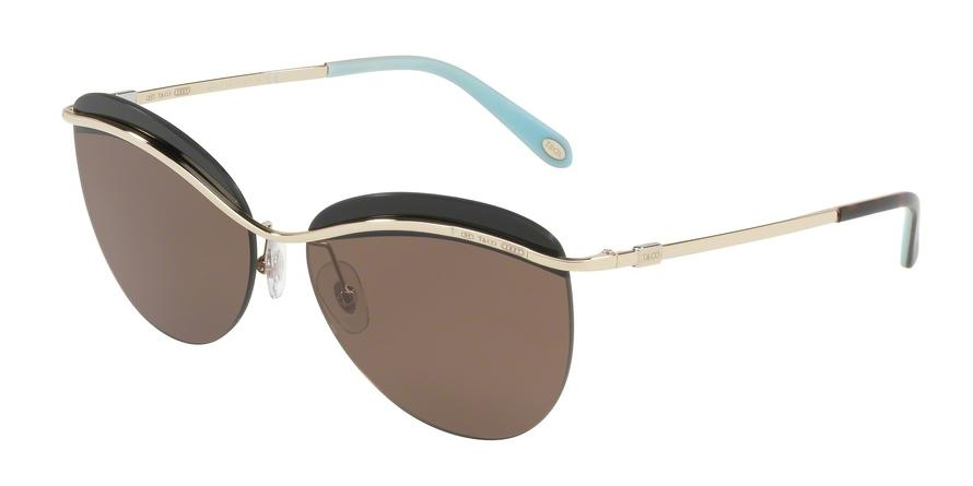 Tiffany  TF3057 602173 Gold Butterfly Sunglasses picture 1